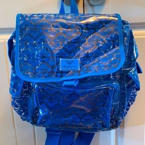 ROXY Backpack blue/transparent mint condition